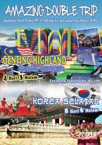Promo Jalan-Jalan Gratis ke Malaysia-Korea