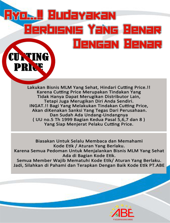 Larangan Cutting Price